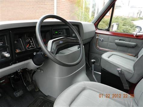 mrhoney  ford econoline  cargovan specs