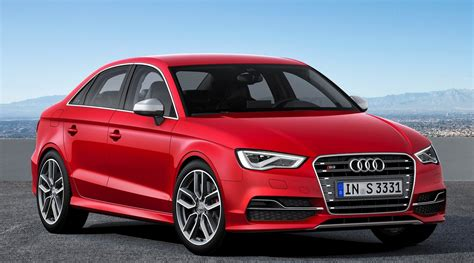 Audi A3 Sedan Glacier Red Car Hd Wallpapers
