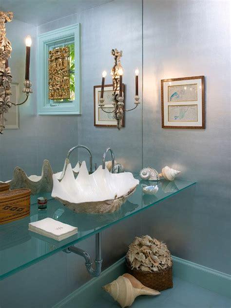 bathrooms  glass countertop designs