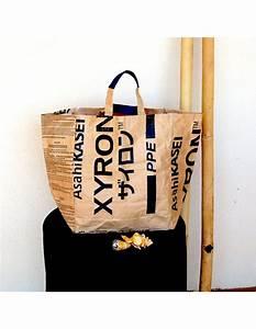 Sac En Papier Deco : sac en papier recycl bangkok noir mod le de ville ou ~ Teatrodelosmanantiales.com Idées de Décoration