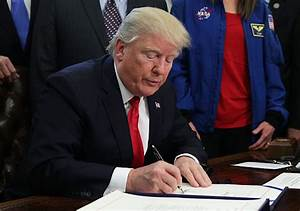 Trump Signs Deal to End Brief Government Shutdown ...