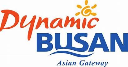 Busan Dynamic Slogan Gateway Asian Svg Korea