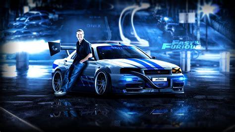 Paul Walker Hd Wallpapers Emil Arts F F Nissan Skyline R34