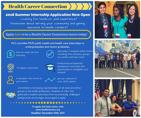 2018 Hcc Summer Internship Application To Open On Oct 19