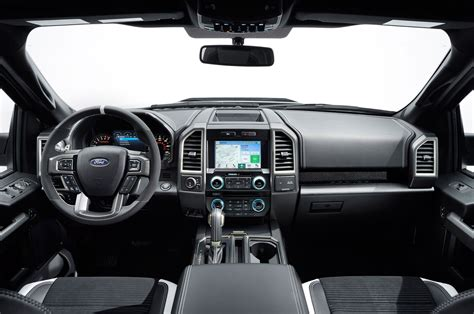 ford raptor interior gallery 2017 ford f 150 raptor features ten speed trans ho ecoboost