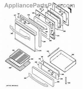Ge Wb57k10100 Oven Door Glass