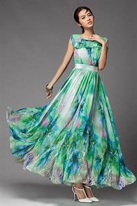 popular maxi dress design 1 4 maxi dress green