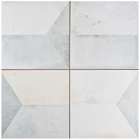 Wall Floor Tiles by Merola Tile Geomento 17 5 8 In X 17 5 8 In Ceramic Floor