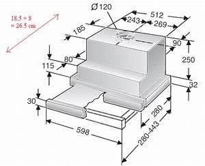 Montage Hotte Tiroir : hotte aspirante tiroir se fixe comment ~ Premium-room.com Idées de Décoration