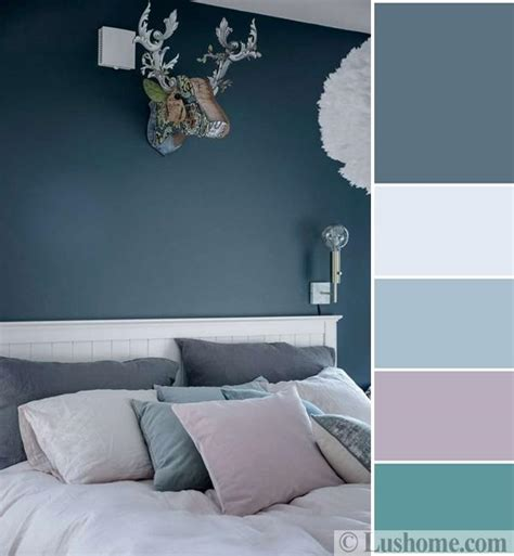 Bedroom Color Schemes In Blue by Bluish Gray And White Decorating Ideas Soften And Styled