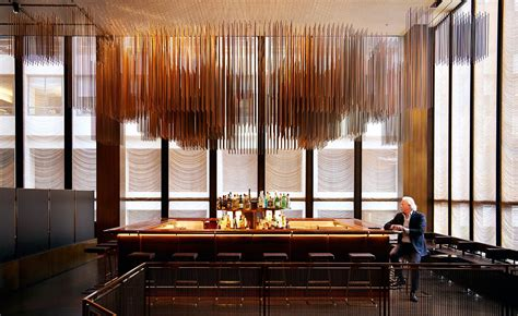 seagram buildings  restaurant  finally unveiled