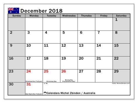 calendar december australia michel zbinden en