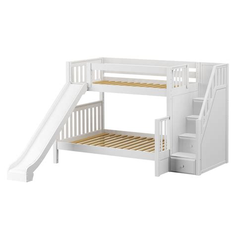 best buy mattress maxtrixkids foxtrot ws bunk w staircase