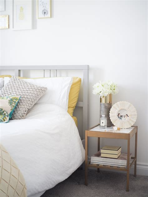Spare Room Ideas  Grey, Green & Gold Decor  Bang On Style. Types Of Granite. Alpaca Paint. Office Couch. Grain Bin House. Cabinet Moulding. Open Staircase To Basement. India Inspired Decor. Kids Bathroom Accessories