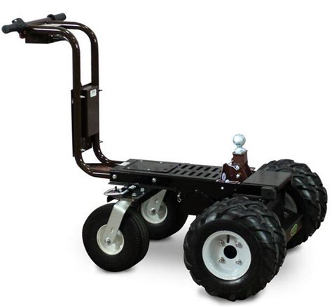Boat Trailer Balloon Tires by Battery Powered Trailer Dolly Tugger Cart 2500lb Capacity