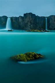 Gods Iceland Waterfalls