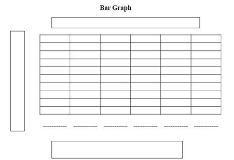 blank bar graph worksheets elementary    images