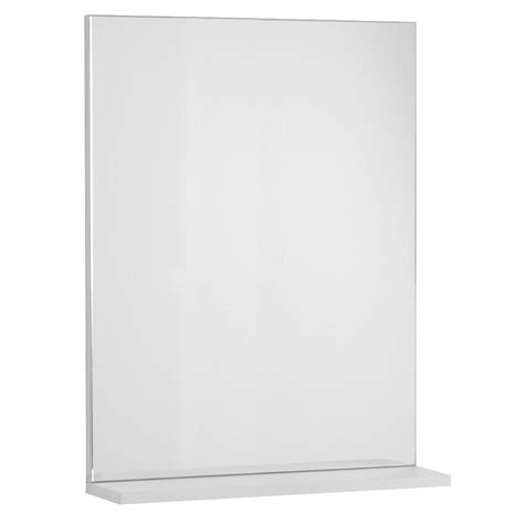 specchio bagno con mensola specchio con mensola 60x14x70 jolly