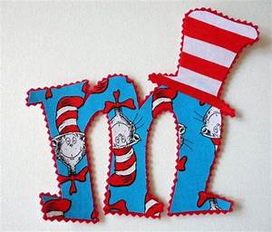 5 cat in the hat letter or number cats iron on letters With iron on letters for hats