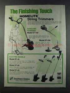 1981 Homelite String Trimmer Ad