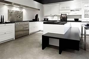 L form kuche mit insel und essplatz in weiss for Küche l form mit insel