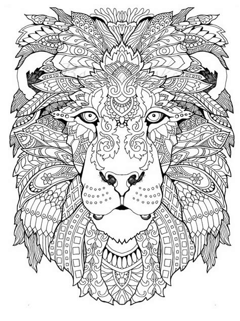 hard coloring pages  adults printable