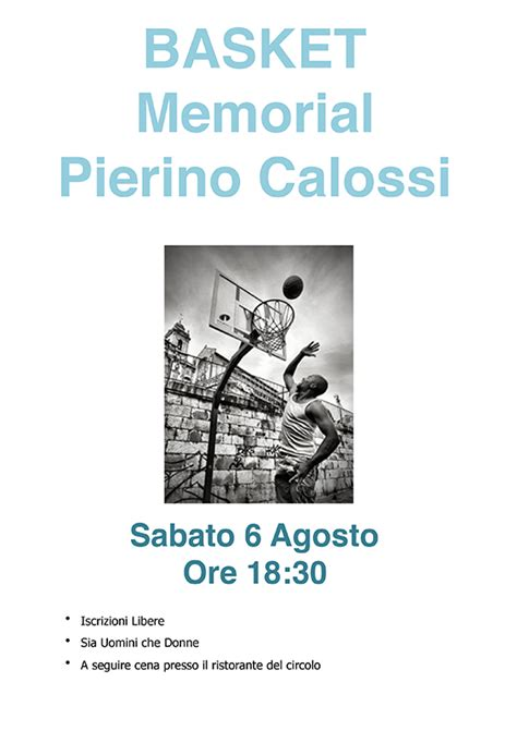 Basket Testo - 6 08 basket memorial pierino calossi circolo quercioli