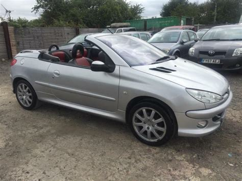 Peugeot 206 Convertible by Peugeot 206 1 6 16v 2006 Coupe Convertible Petrol Manual