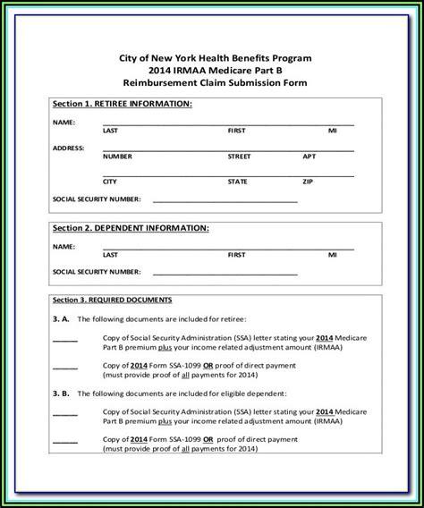 medicare claim form cms  form resume examples