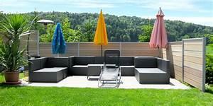 Garten Trennwand Holz : sichtschutz holz garten gunstig ~ Sanjose-hotels-ca.com Haus und Dekorationen