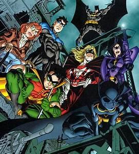 Batman Family vs. Supes Family vs. Flash Family vs. GL ...