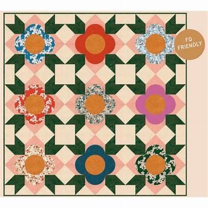 Quilt Flower Sewing Pattern Modern Handcraft Patterns