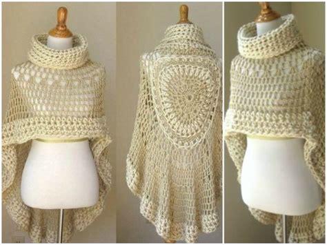 Angel Lovely Lady Poncho Free Crochet Pattern