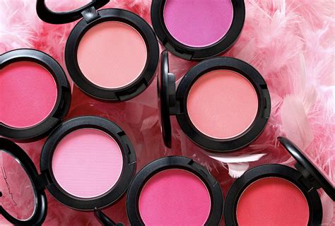 mac cosmetics  selling powder blush review