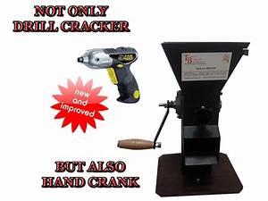 Drill Cracker Black Walnut Cracker Pecan Cracker Hazelnut