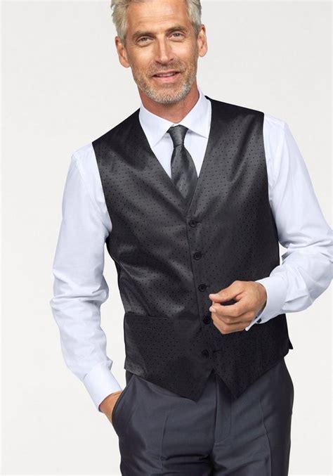 studio coletti anzugweste set  tlg mit krawatte und