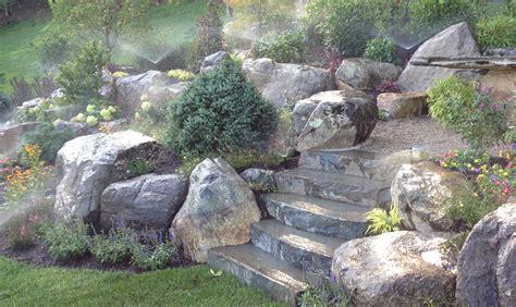 rock garden ideas stone photograph decorative garden stone