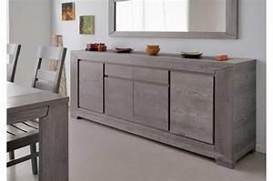 Salle a manger complete chene gris trendymobiliercom for Meubles de rangement salon 2 tables chaises claustras buffet meuble de rangement