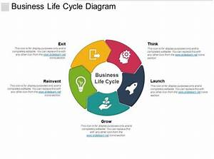 Business Life Cycle Diagram Powerpoint Ideas
