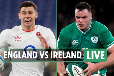 England vs Ireland rugby LIVE: Stream free, TV channel ...