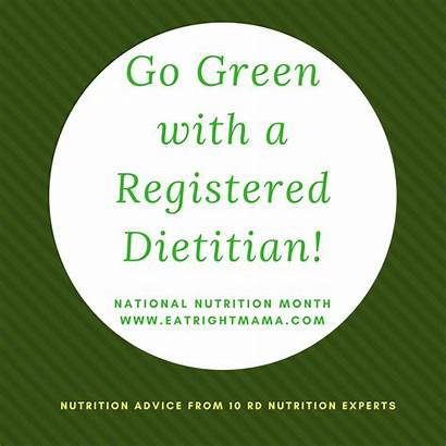 Registered Dietitian Month Nutrition National Eating Healthy