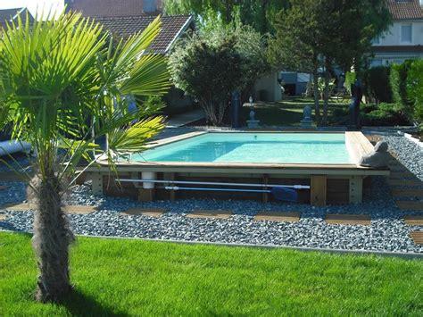 piscine en bois semi enterree pas cher piscine hors sol bois pas cher piscine discount