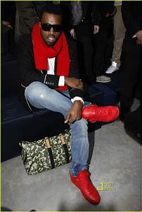 its all about my shoes: Kanye West x Louis Vuitton Sneakers