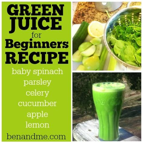juice beginners recipe fast juicing sweet handfuls spinach baby fasting