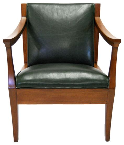 mission style leather chair contemporary armchairs and