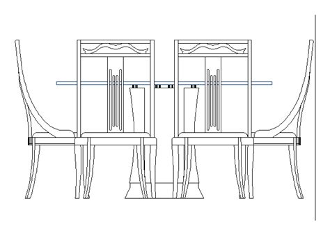 dining table dwg block  autocad designs cad
