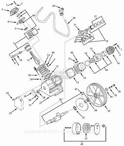 Campbell Hausfeld Hs7810 Parts Diagram For Pump Parts