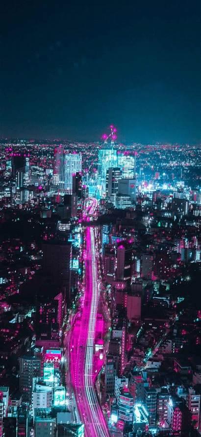 Japan 4k Wallpapers Night Osaka Japanese Iphone