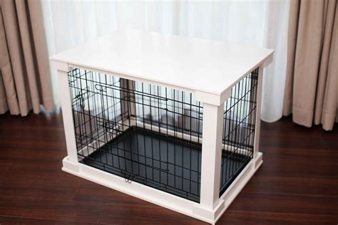 merry products  table covered decorative dog cat crate small chewycom