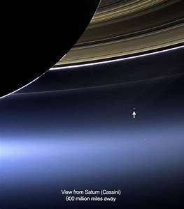 The Big Picture: Earth as Seen From Saturn | xraydelta
